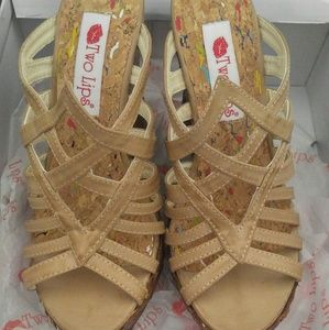 Brand new size 7.5 wedges